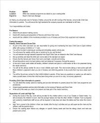 Resume Of Nanny 5 Nanny Job Description For Resume Job Duties Job Description For