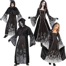 forgotten ghost souls white make up adults kids fancy dress