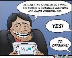 Wii U Meme - nintendo wii u comic trolls microsoft and sony by giojones123