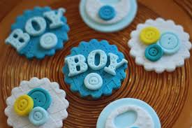 baby shower fondant topper cute as a button fondant toppers