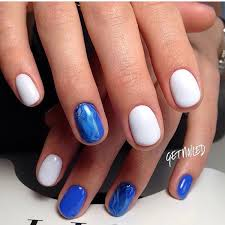 nail art 2252 best nail art designs gallery oval nails blue