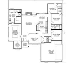 ranch style house plan 4 beds 2 00 baths 2040 sq ft plan 412 130