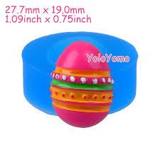 easter egg gum j300yl 27 7mm half easter egg silicone mold for dessert fondant