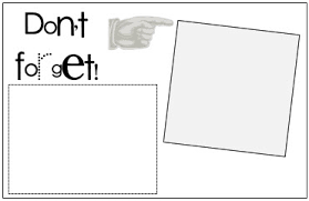 print on your post it notes don u0027t forget template printables