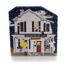department 56 halloween village clearance cats meow village villages u0026 collectibles sears