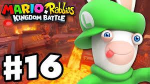 mario rabbids kingdom battle gameplay walkthrough 16