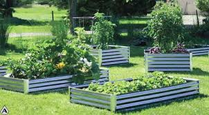 Corrugated Metal Garden Beds Corrugated Steel Raised Garden Bed Kit Never Rots 100