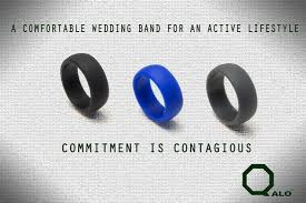 qalo wedding bands qalo ring a solution for working out with a wedding band