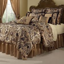 maison del ray paisley damask comforter bedding by veratex