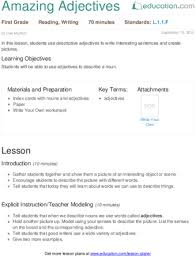 My Family Writing Practice Lesson Plan Education Lesson Plans For Grade Education