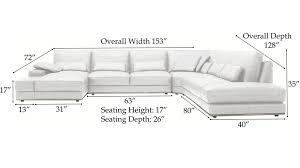 sofa seat depth measurement sectional sofa measurements interior design