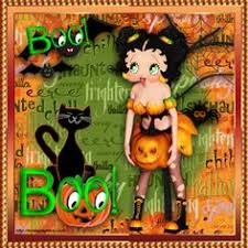 betty boop thanksgiving clipart