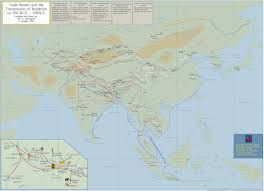 Map Of Nepal And India Detailed Maps Of Asia By John C Huntington