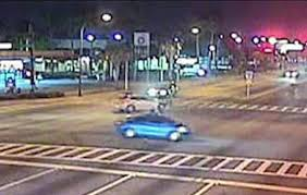 Red Light Bandit Florida Police Officer Ticketed After Running Red Light Slamming