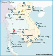 Montana travel asia images Southeast asia travel map travel map vacations png