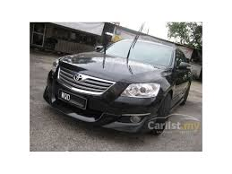 2007 toyota camry kits toyota camry 2007 v 2 4 in selangor automatic sedan black for rm