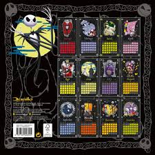 Nightmare Before Christmas Decorations Halloween Van Gogh The Nightmare Before Christmas Calendars 2018 On Europosters
