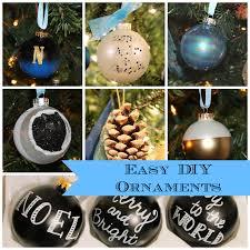 easy diy christmas ornaments well groomed home
