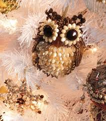 adorable beaded owl ornament simplycreativechristmas