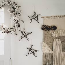 diy natural christmas ornaments wood stars u2014 under a tin roof