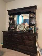 dresser and vanity hutch furniture home by owner for sale on