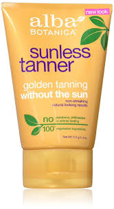 amazon com alba botanica sunless tanning lotion 4 ounce self