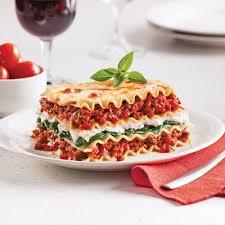 cuisine epinard lasagne aux épinards et ricotta recettes cuisine et nutrition