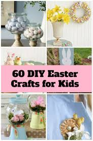 60 diy easter crafts for kids the budget diet
