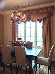 old world tuscan dining room with high end cornice and trump