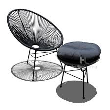 Acapulco Chair Replica Featured Product Of The Month The Acapulco Chat Set