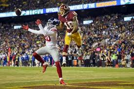 nfl redskins beat giants in turkey of a thanksgiving
