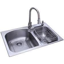 Low Hot Water Pressure Kitchen Sink by Kitchen Sinks Undermount All In One Sink Triple Bowl Rectangular