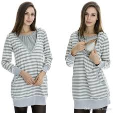 nursing top 2017 winter maternity clothes maternity tops dress