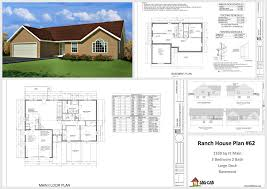 Free Home Plan 1330 Sq Ft House Design 10 House Plans Http Housecabin Com