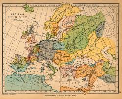 Maps History Medieval Europe In The 13th Century Song Of The Sea Amd
