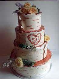 Cake Decorating Classes Utah Birch Bark Wedding Cake A Piece Of Cake Utah