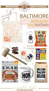 Maryland travel kits images Charm city welcome bag perfect for a baltimore themed wedding jpg