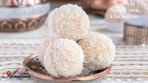 amour de cuisine de soulef boules de noix de coco à la confiture boules de neige gateaux secs