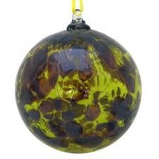 glass friendship balls hearts sentiment and birthstone balls