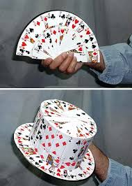 card fan to card top hat 51 stage magic china magic shop