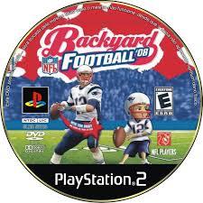 Backyard Football Ps2 by Label Backyard Football 08 Ps2 Gamecover Capas Customizadas