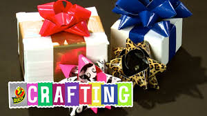 how to craft a duct tape christmas gift bow youtube