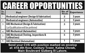 mechanical engineering jobs in dubai for freshers 2013 nissan mechanical engineer job archives jhang jobs