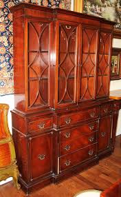 Antique Breakfront China Cabinet by Antique Secretary Desks And Breakfronts