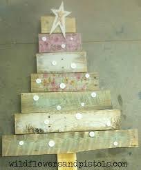 pallet wood christmas trees u2013 wildflowers u0026 pistols