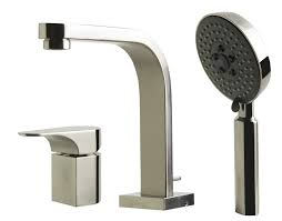 alfi brand ab2703 single lever faucet round hand held pull out