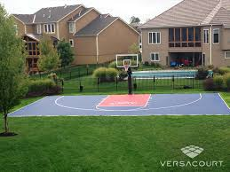 Basketball Court In The Backyard Marvelous Design Basketball Court In Backyard Charming 1000 Ideas