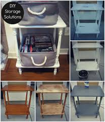 the endless need for an easy storage solution diy dvd side table