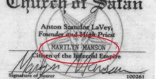 imagenes satanicas de marilyn manson 10 famosos que pertenecen a la iglesia de satán imágenes taringa