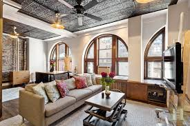Living Room Bonus - this 1 2m chelsea loft has great architectural details and a
